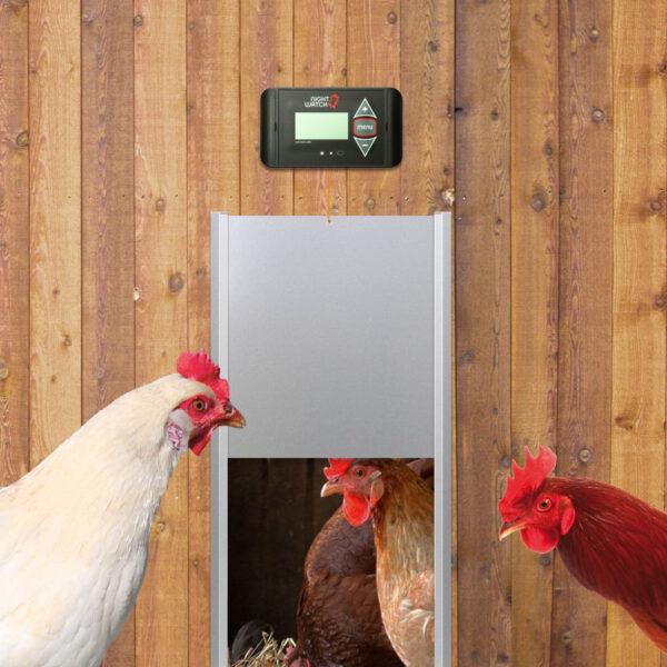 automatische-kippendeur